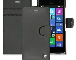 Leather case for the Nokia Lumia 735
