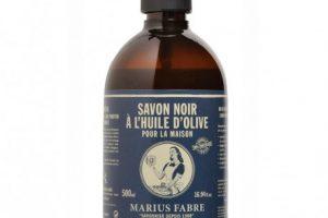 Marius Fabre fait aussi du savon noire liquide à l'huile d'olive